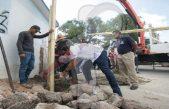 Inician obras para beneficio de las familias de La Valla