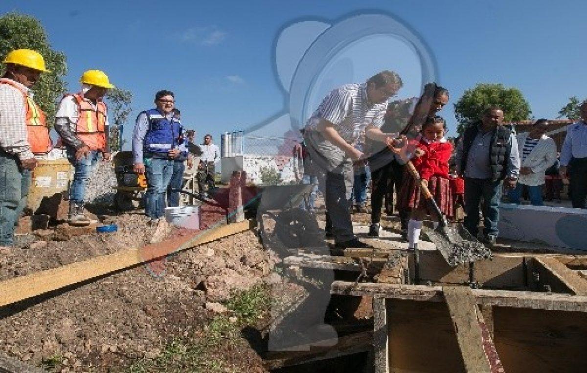 Entregan obra en preescolar de Santa Lucía