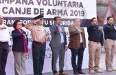 Inicia en Escobedo campaña voluntaria de Canje de Armas