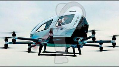 China prepara la primer red operativa de taxis aéreos