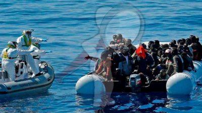 Fallecen 40 migrantes en naufragio en el Mediterráneo