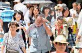 Mueren 57 personas por ola de calor en Japón