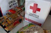 Desecha Cruz Roja Mexicana SJR productos donados por higiene