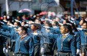 Más de 2 mil 400 participaron en Desfile Cívico Militar en Querétaro