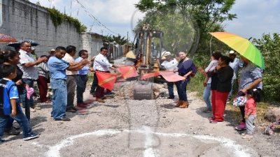 Arrancan obras por 6 mdp en comunidades de Escobedo
