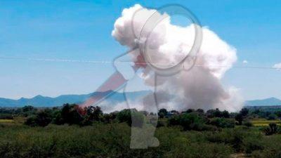 Explosión de polvorín deja dos muertos en Hidalgo
