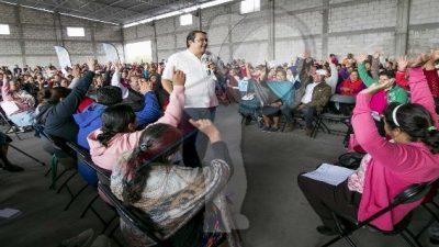 Más de 800 familias beneficiadas con apoyos en La Valla