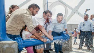 Con obra hidráulica se mejora el servicio de agua potable en Loma Linda y Casa Blanca
