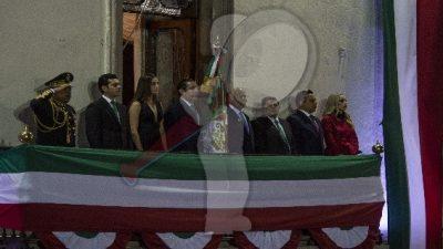 Preside Gobernador ceremonia del Grito de Independencia
