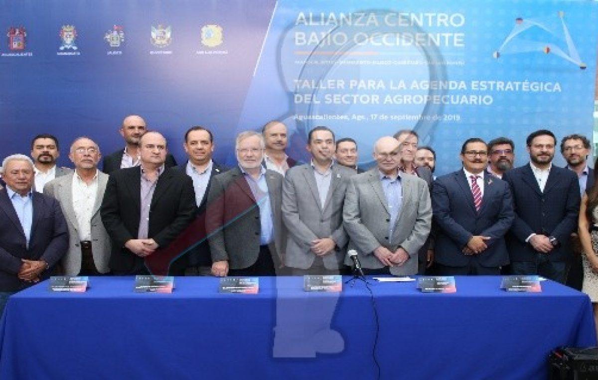Definen agenda para el sector agropecuario en la Alianza Centro-Bajío-Occidente