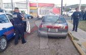 Sujeto es detenido tras robar un vehículo minutos antes