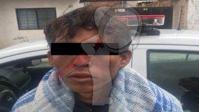 Detienen a presunto ladrón que atacó a mujer en SJR