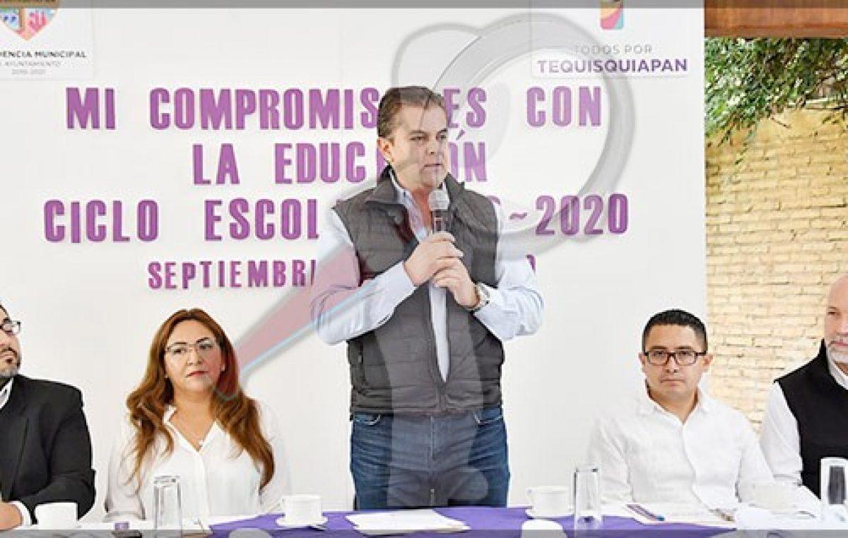 Agradece magisterio apoyo a la educación en Tequisquiapan
