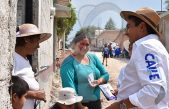 Recorre Amarildo Bárcenas comunidades para entrega de Primer Informe