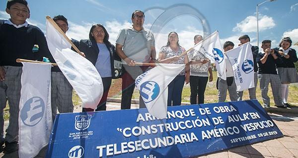 Inician obras de mejora en instalaciones educativas de El Coto