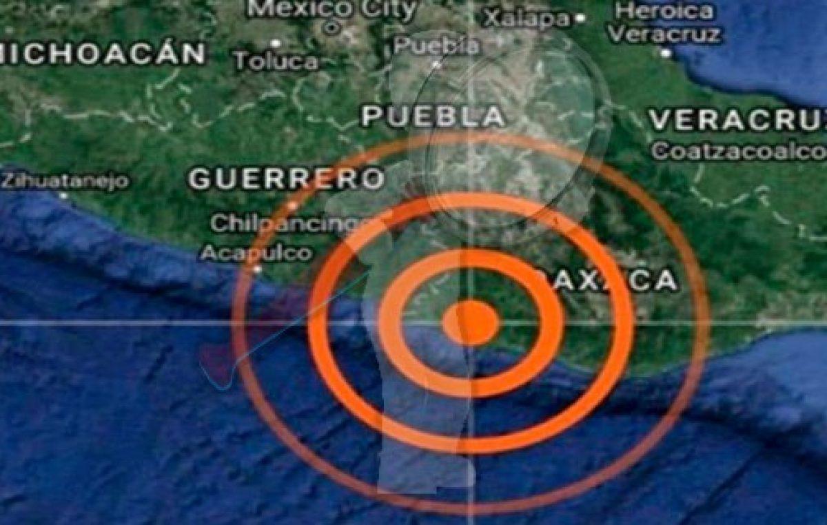 Sismo de 4.3 sacude nuevamente a Oaxaca