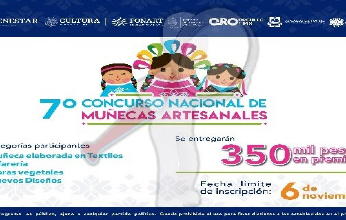 Realizarán la 7ª edición del concurso nacional de muñecas artesanales