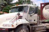 Emiten alerta por robo de camión con Cianuro de Sodio