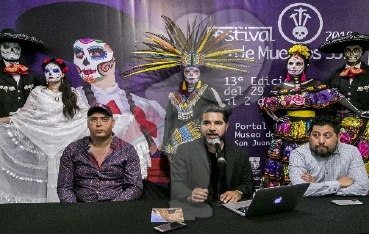 Anuncian Festival de Día de Muertos en SJR