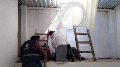 Sujeto intenta robo a casa-habitación y sale lesionado en SJR