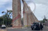 Joven intenta suicidarse en Acueducto de Querétaro
