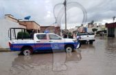 Familias afectadas por lluvia en San Juan del Río