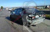 Aparatoso accidente en la México-Querétaro, genera caos vial