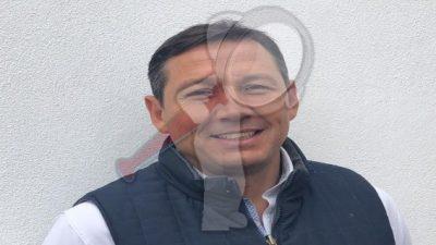 Oswaldo García nuevo titular de Administración en gobierno de SJR