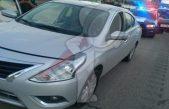 Detenidos dos sujetos que viajaban en automotor robado en TX