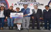 Llevan a cabo sexta entrega de becas municipales en Pedro Escobedo