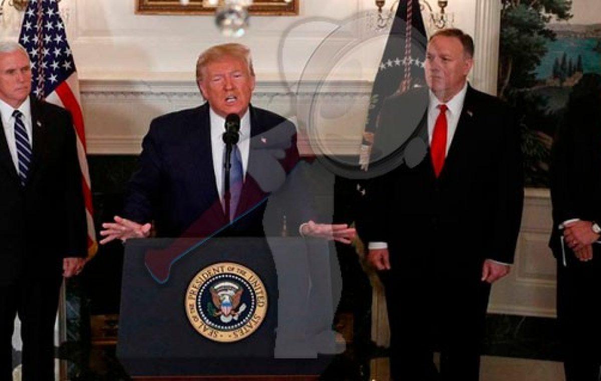 Anuncia Trump alto al fuego en Siria e indulta a Turquía