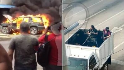 """Tras enfrentamientos, liberan a hijo de """"El Chapo"""" en Culiacán"""