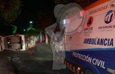 Vuelca transporte de personal en centro de  SJR, varios lesionados