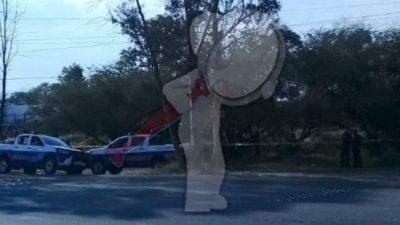 Localizan cuerpo sin vida en Av. Constituyentes en San Juan del Río