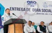 Destina gobernador 17 mdp para obras sociales en Santa Rosa Jáuregui