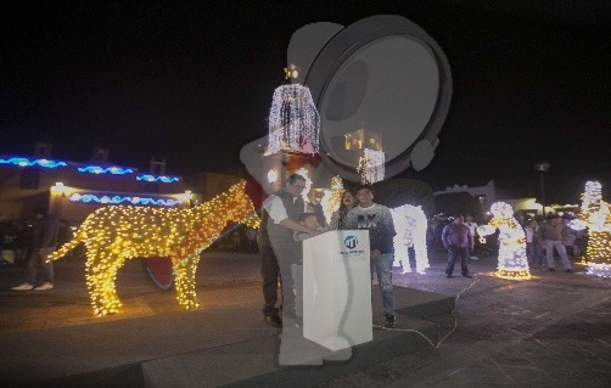 Con encendido de Villa Iluminada inician fiestas navideñas en SJR
