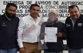 """Entregan apoyos del programa """"Concurrencia"""" en Pedro Escobedo"""