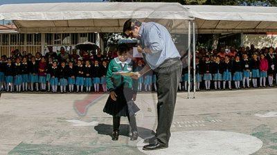 Reconocen impulso a la Educación en Gobierno de Memo Vega