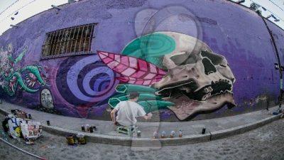 Talento suizo se une a Ruta Mural de San Juan del Río