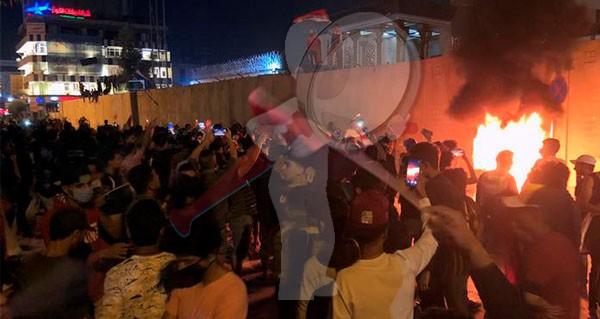 Irak: Al menos 7 muertos en la represión de las protestas en Bagdad