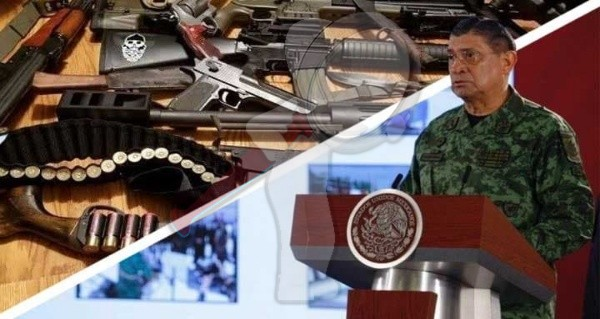 Trafican armas de EU en lavadores, televisores y juguetes a México