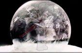El encanto de las burbujas de jabón congeladas (video)