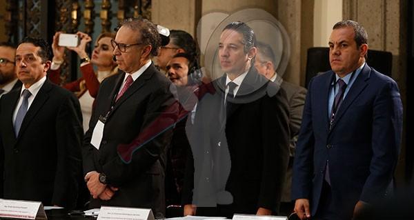Designan a gobernador de Querétaro vocal permanente en Comisión de Seguridad Nacional