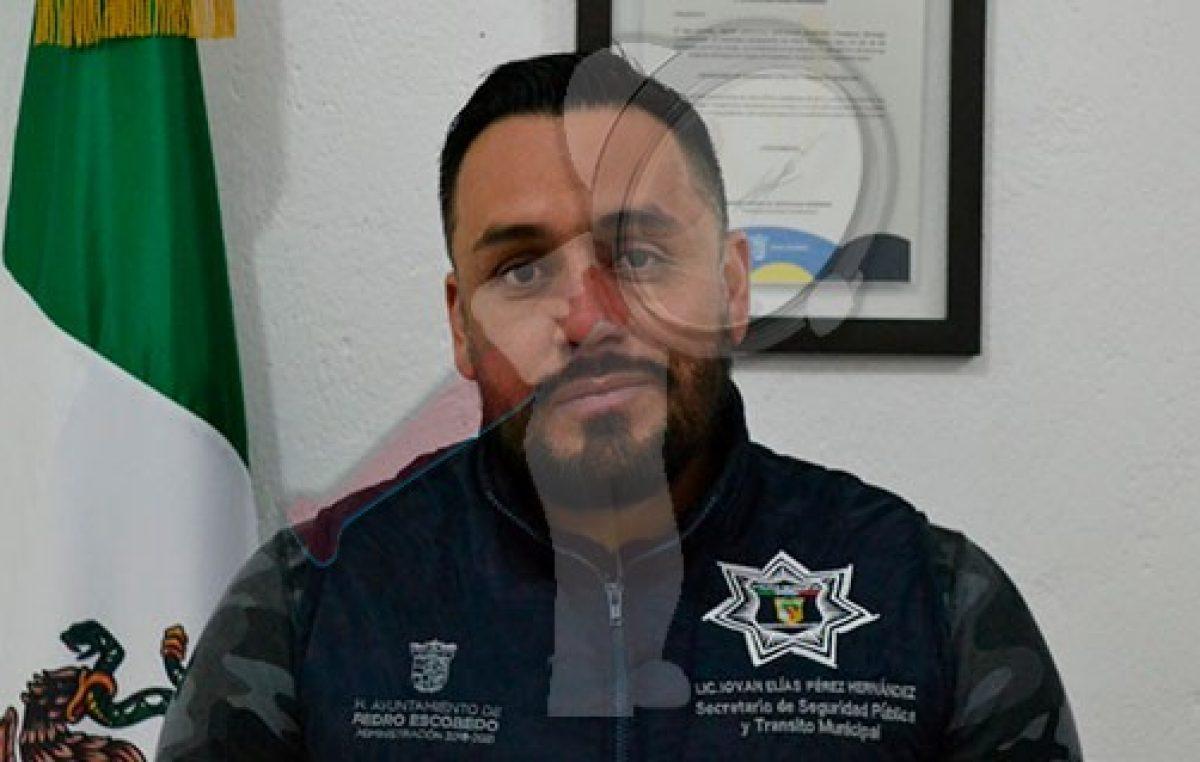 Recibirá Pedro Escobedo inversión histórica en materia de seguridad