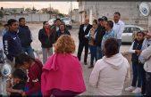 Entregan mejora de infraestructura urbana en colonia El Chamizal