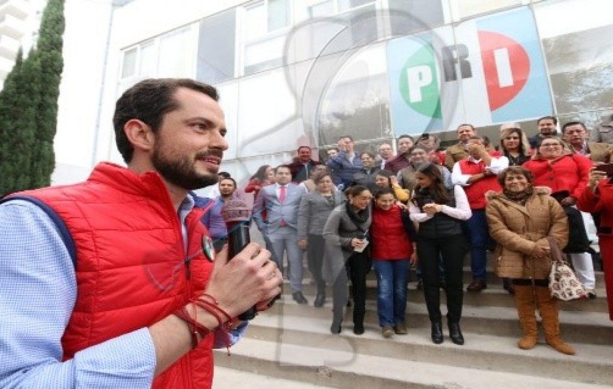 Se lleva a cabo registro de candidatos para el Comité Estatal del PRI