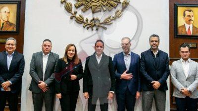 Anuncia Pancho Domínguez inversión del sector financiero