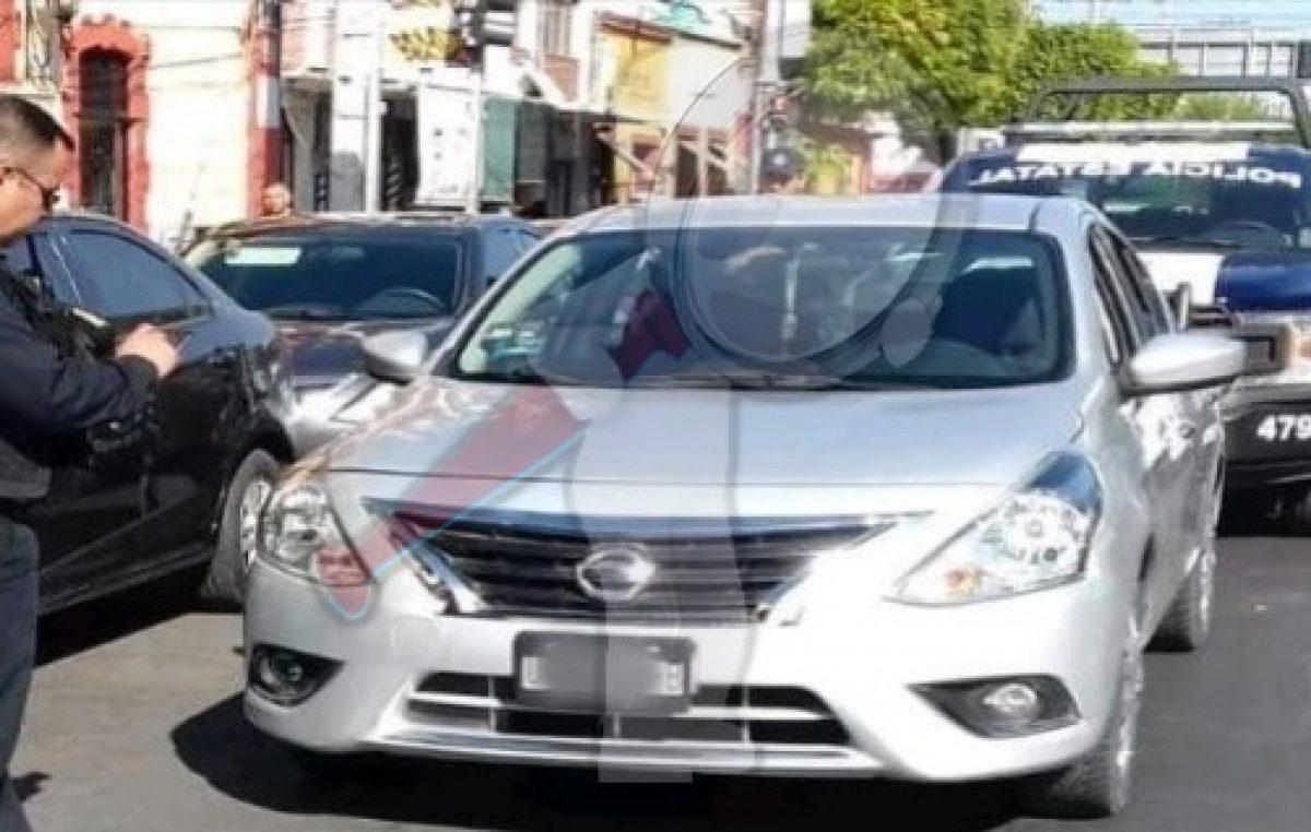 PoEs recupera vehículo robado en Jalisco