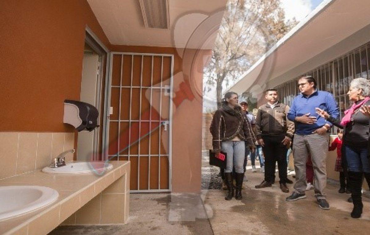 Gobierno sanjuanense acerca mejores calles y servicios a El Rosario