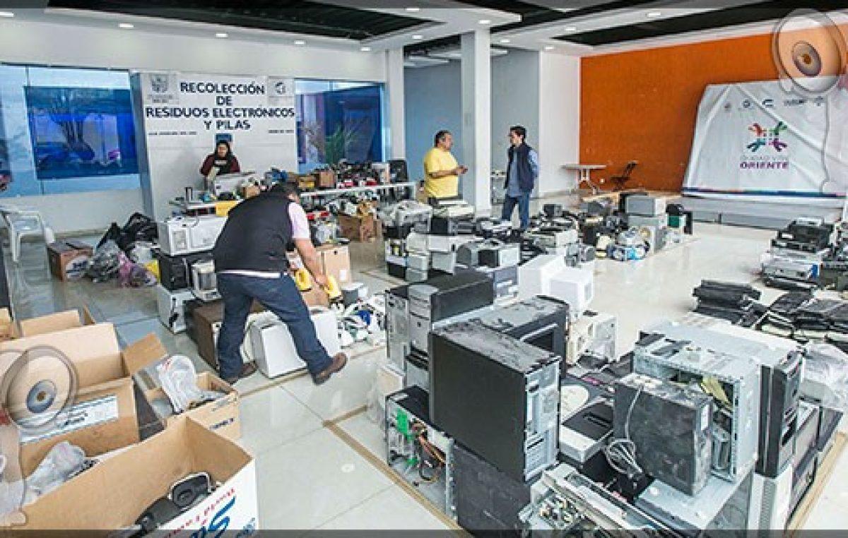 Exitosa recolección de residuos electrónicos del gobierno de SJR